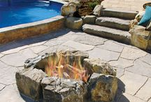 Nicolock Fireplaces & Pits / Fall is coming to a close and the holidays are almost here! Don't let the cold stop you from being with your friends and family and sitting by a beautiful fire pit by Nicolock Pavers. Make impressions and memories that will last a lifetime!