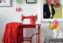 Máquinas de coser / by Portaldelabores.com