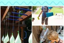 *Kid Friendly - Water Games / Water games for summer parties with kids - DIY summer fun!