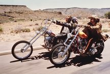 Easy rider / Motorcycle chopper bobber bike