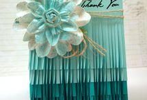Julie's card ideas / by Nancy Hunt