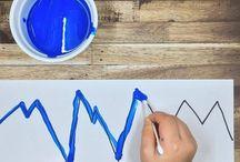atividades com tinta