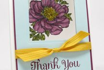 Stampin' Up! - Bloom with Hope / Projects using the Hostess stamp set 'Bloom with Hope'.
