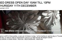 OPEN DAY THURSDAY 11TH DEC / BEAUTIFUL CLOTHES
