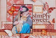 {scrappy goodness ♡ single layouts}