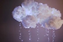 nube en pared