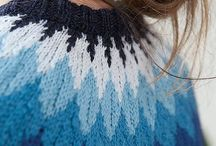 Knitting | Colourwork sweaters