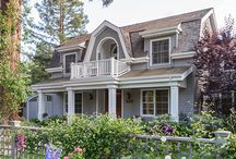 Fannie Allen Design: Menlo Park Shingle Home / A Menlo Park spec house was transformed with art, color, new surfaces and furnishings to reflect the family's passions for the many countries where they've lived and worked in the past.