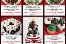 Christmas Presale 2015 / Christmas Presale has begun! Call our stores to place orders or visit our website to download the order form: http://eddascakedesigns.com/christmas-presale/