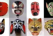 Trible culture / Маски, образы, костюмы