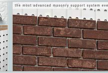 BRICK - MANUFACTURED STONE / Photos are LINKED DIRECTLY to company website - see all their products