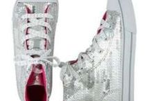 Justice sparkly sneakers