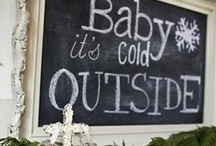 Winter themed baby shower