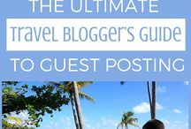 Travel Blogging / Thinking of starting a travel blog? Or already have one and want some extra tips for improvement? This selection of hints, tips and stories will be sure to help.