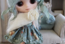Blythe and Barbie Doll / Barbie and Blythe doll clothes, furniture and accessories  / by Debbie Booth