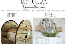 Crafts: DIY Clocks