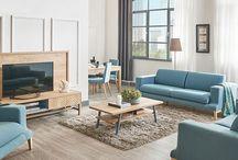 doğtaş_zeyn_grup / #iskandinavhome #scandinavianstyle #living #bedroom #diningroom