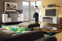 Comedores Low Cost CUBE2 / Fotografías de la colección de muebles de comedores Low Cost CUBE2 de la firma de muebles RAMIS http://www.mueblesramis.com/