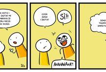 fumetti idioti