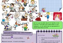 Teaching Ideas:  French Professions