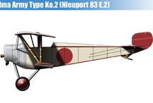 WW I JAPANESE EMPIRE MILITARY AIRPLANES
