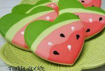 ciastka owoce