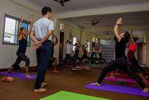 Yoga Images /  Take a look at some of the pictures from yoga teacher training programs at Akshi Yogashala, Rishikesh India.