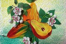 quilling fruits