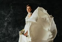 Bride & dress / Wedding dress