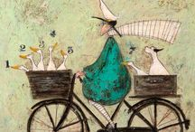 Sam Toft / Her quirky art is one of my favourites
