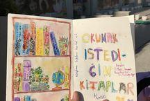 Çizim defterim / sketchbook