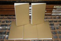 Cuadernos / Cuadernos, letterpress, cocido japonés, cocido manual, encuadernación, los tipejos