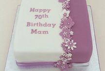 80th cakes