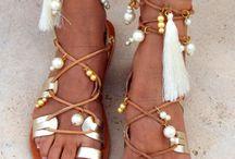 Sandales de mariage de plage