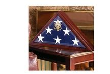 Handmadebyveterans - Burial Flag Cases / Semper Flag Display Case, 2 Flags Display Case, Flag Display Case, Coast Guard Flag, USMC Flag Certificate , American Burial Flag Box, EMT Flag Case