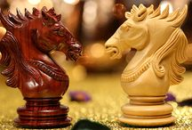 Learn chess tactics with a knight / A Knight covered in a suit of armor and sitting on a strong spirited horse, high above all the others on the battlefield. He can maneuver much more efficiently and can easily sweep nearly an entire battlefield.
