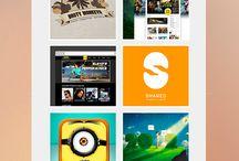 Diseño Web / Dentro de este tablero encontraremos inspiración para el diseño web, el diseño Responsive como protagonista.