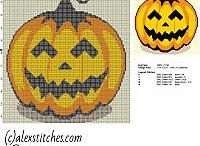 Halloween free cross stitch patterns / Halloween free cross stitch patterns