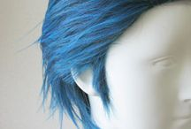 wigs and cosplays