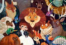 ilustraciones animales