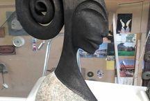wood and stone sculpture / more info via e-mail dariusz.wiecek28@gmail.com