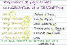 Grammaire - Prépositions