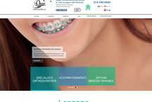 "Braces Colours VSL in MTL / Chez Cavalerie Web Media nous travaillons présentement sur un nouveau projet de site internet pour notre client Dr. Thanh-De Nguyen "" #ORTHODONTIST "" du Grand #MONTREAL Quebec City, un site web à la fine pointe de la technologie qui parlera en trotre des sujets suivants : #INVISALIGN Braces Cost Montreal, how much do invisalign braces cost, how much do invisible braces cost, invisible teeth braces cost, crooked teeth treatment without braces"