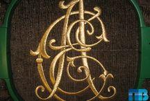 Вышивка золотом / Машинная вышивка золотыми нитками