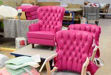 Custom-made / Custom-made furniture and furnishings by Finkeldei Upholstered Furniture Manufactory.