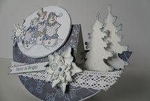 přáníčka - Vánoce
