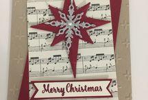 Christmas star cards