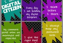 Cyber safety/digital citizenship / Being safe, being clean, knowing your rights and the rights of others when it comes to digital media. Keeping me and those I know safe. Respecting myself and others in the cyber world