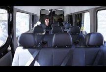 Meet the Brilliant Fleet / Our premium luxury van service features the most advanced, luxurious customized Mercedes-Benz Sprinter vans anywhere.