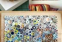 Walls Ideas / How to make creative walls from recycle old things.